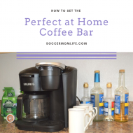 Set the Perfect at Home Coffee Bar
