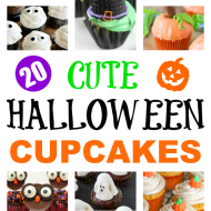 20 Cute Halloween Cupcake Ideas